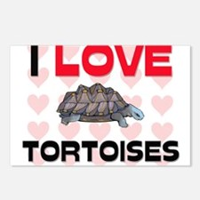 I Love Tortoises Postcards (Package of 8)