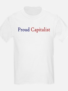 Proud Capitalist pro-capitalism T-Shirt
