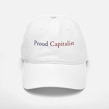 Proud Capitalist pro-capitalism Baseball Baseball Cap