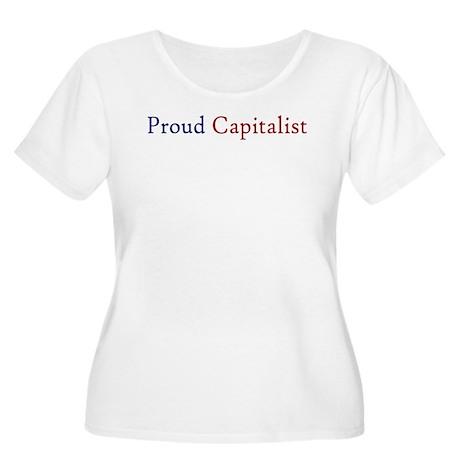 Proud Capitalist pro-capitalism Women's Plus Size