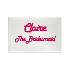 Claire - The Bridesmaid Rectangle Magnet
