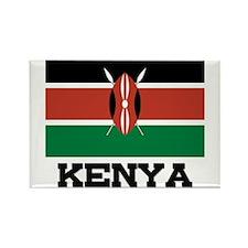 Kenya Flag Rectangle Magnet
