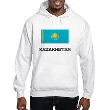 Kazakhstan Flag Hoodie