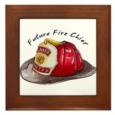 Future Fire Chief Framed Tile