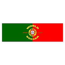 Portugal World Cup Soccer Bumper Bumper Sticker