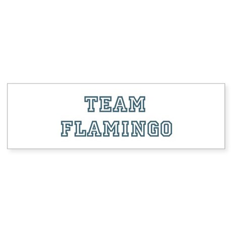 Team Flamingo Bumper Sticker