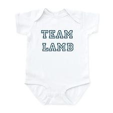 Team Lamb Infant Bodysuit