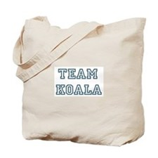 Team Koala Tote Bag