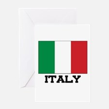 Italy Flag Greeting Card