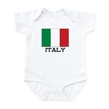 Italy Flag Infant Bodysuit