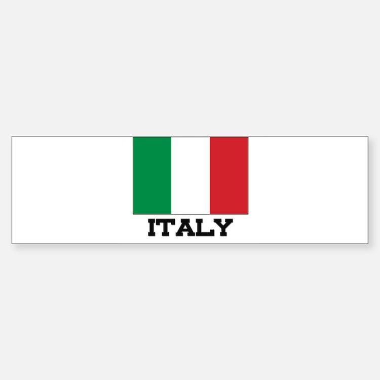 Italy Flag Bumper Bumper Bumper Sticker