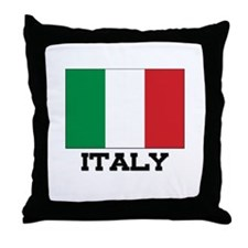 Italy Flag Throw Pillow