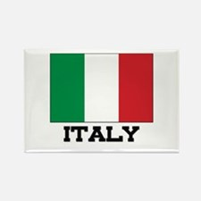 Italy Flag Rectangle Magnet (10 pack)