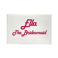 Ella - The Bridesmaid Rectangle Magnet