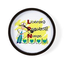 Licensed Practical Nurse Wall Clock
