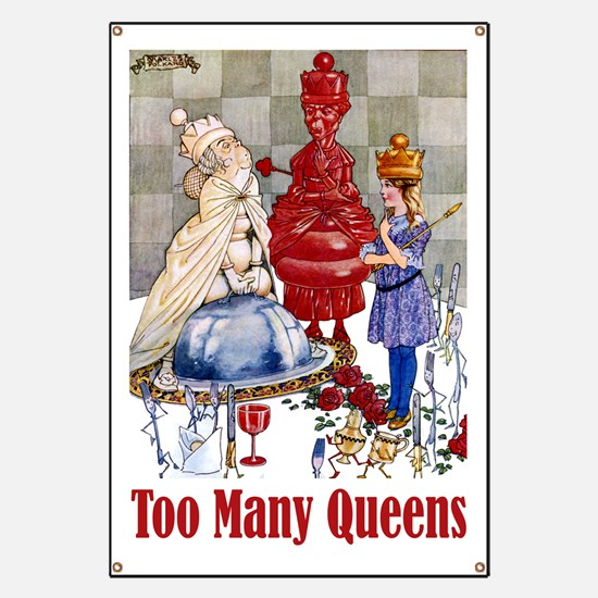 ALICE: TOO MANY QUEENS Banner