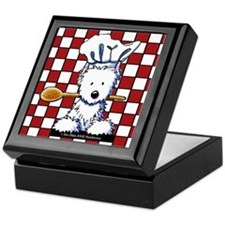Westie Chef Keepsake Box