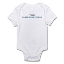 Team Green Tree Python Infant Bodysuit