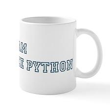 Team Green Tree Python Mug