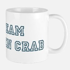 Team Green Crab Mug