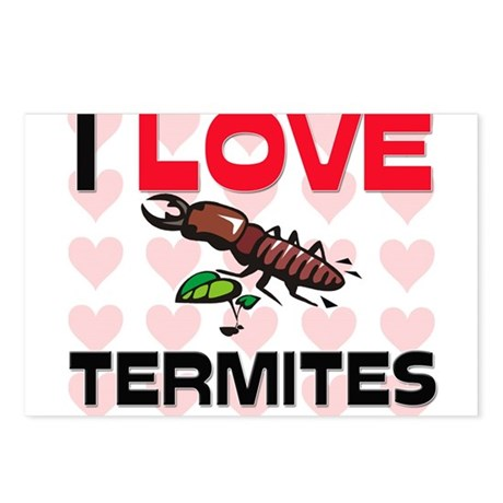 I Love Termites Postcards (Package of 8)
