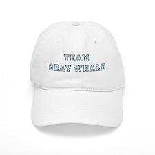 Team Gray Whale Baseball Cap