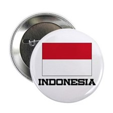 """Indonesia Flag 2.25"""" Button"""