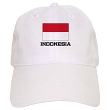 Indonesia Flag Baseball Cap