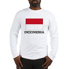 Indonesia Flag Long Sleeve T-Shirt