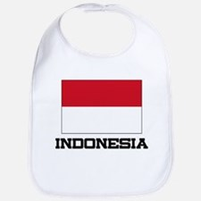 Indonesia Flag Bib