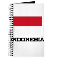 Indonesia Flag Journal
