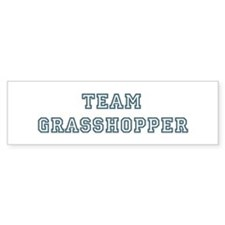 Team Grasshopper Bumper Bumper Sticker
