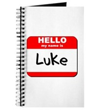 Hello my name is Luke Journal