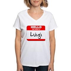 Hello my name is Luigi Shirt