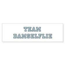Team Damselflie Bumper Bumper Sticker