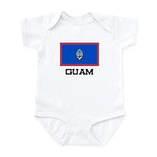 Guam Flag Infant Bodysuit
