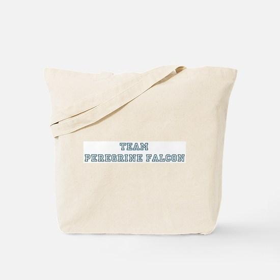 Team Peregrine Falcon Tote Bag