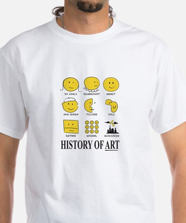 History of Art Smileys T-Shirt