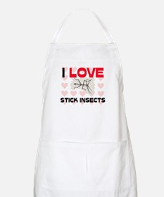 I Love Stick Insects BBQ Apron