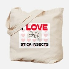 I Love Stick Insects Tote Bag