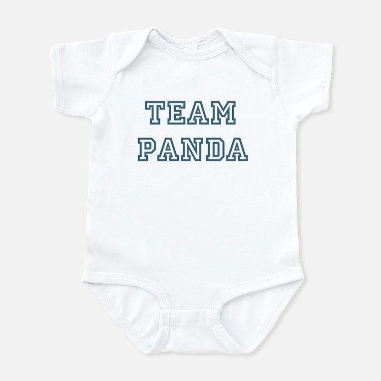 Team Panda Infant Bodysuit