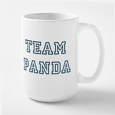 Team Panda Large Mug