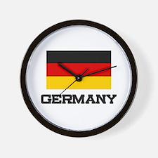 Germany Flag Wall Clock