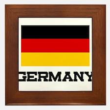 Germany Flag Framed Tile