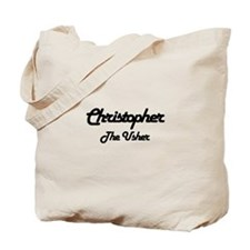 Christopher - The Usher Tote Bag