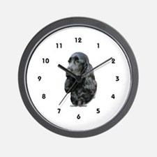 Cocker Spaniel 9T004D-206 Wall Clock