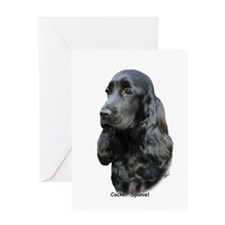Cocker Spaniel 9T004D-206 Greeting Card