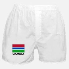Gambia Flag Boxer Shorts
