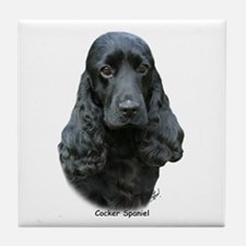 Cocker Spaniel 9T004D-537 Tile Coaster