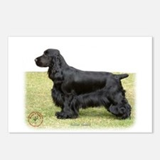 Cocker Spaniel 9P014D-013 Postcards (Package of 8)